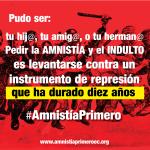 AMNISTIA PRIMERO